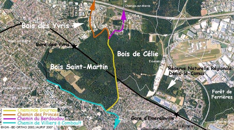 Le Bois Saint Martinà Noisy le Grand # Le Bois Saint Martin